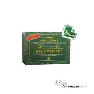 van Dale: Welk Woord   Spellen Expert